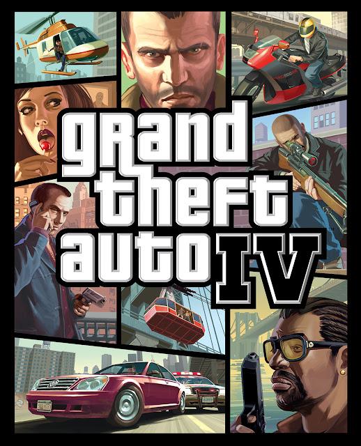 Grand Theft Auto IV (GTA 4) Cover (Kapak)