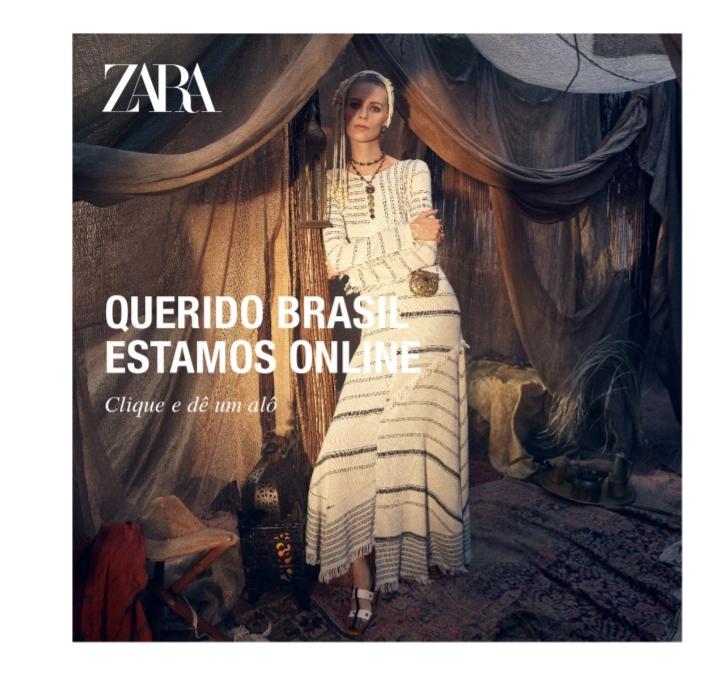 58c87a9f354f A Moda In Foco: Zara Lança Loja Online no Brasil