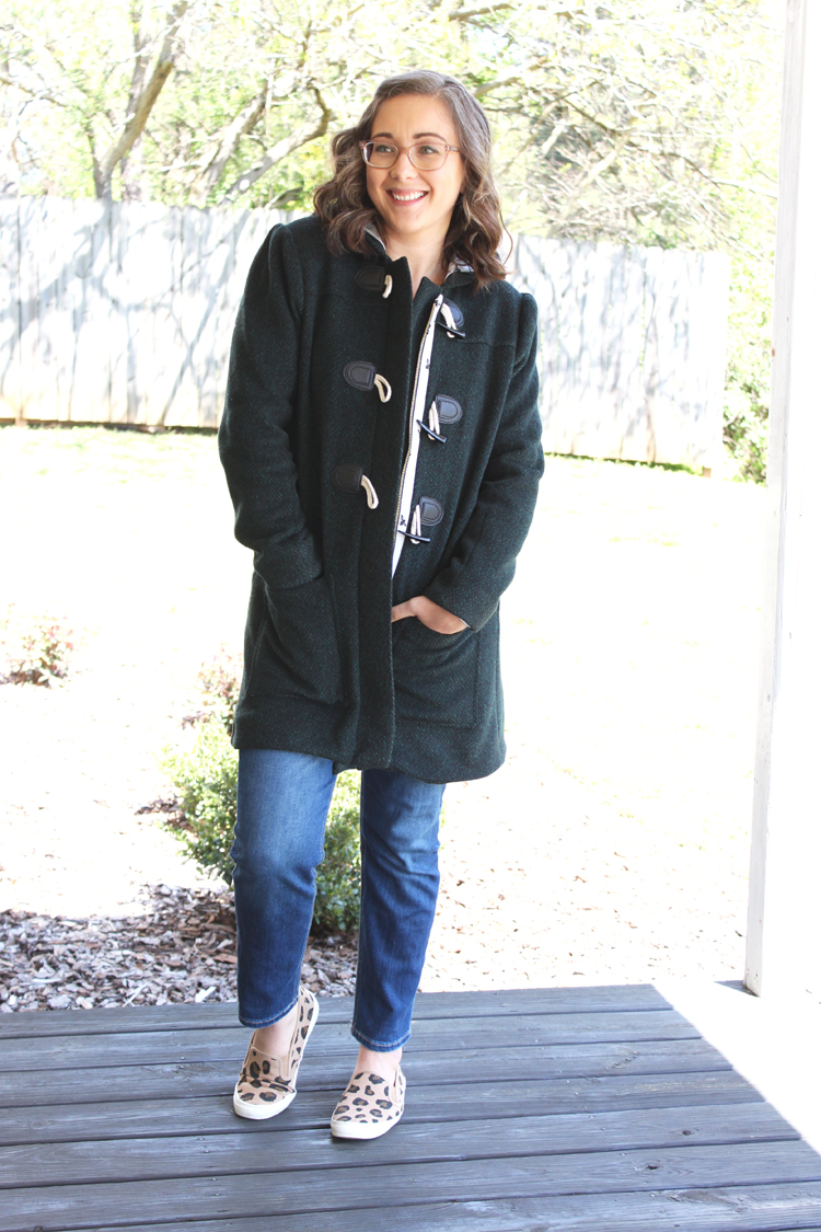 Cascade Duffle Coat // Sewing For Women