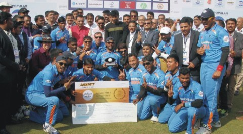 india beat pakistan in blind world cup final and become chamption - بھارت نے پاکستان کو شکست دے کر بلائنڈ کرکٹ ورلڈ کپ جیت لیا