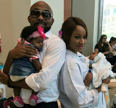 adesua etomi gives birth twins