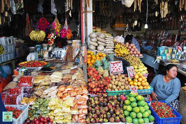 Mercado de Candikuning, Bali