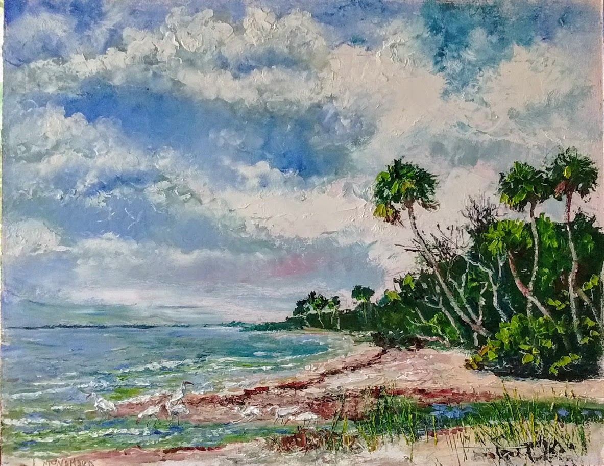 Lori S Stormy Art And Daily Paintings 1802 By Old Fort Pierce Plein Air