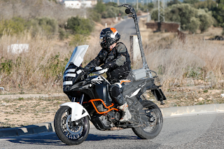 Spy shot Facelift KTM 1290 Super Adventure