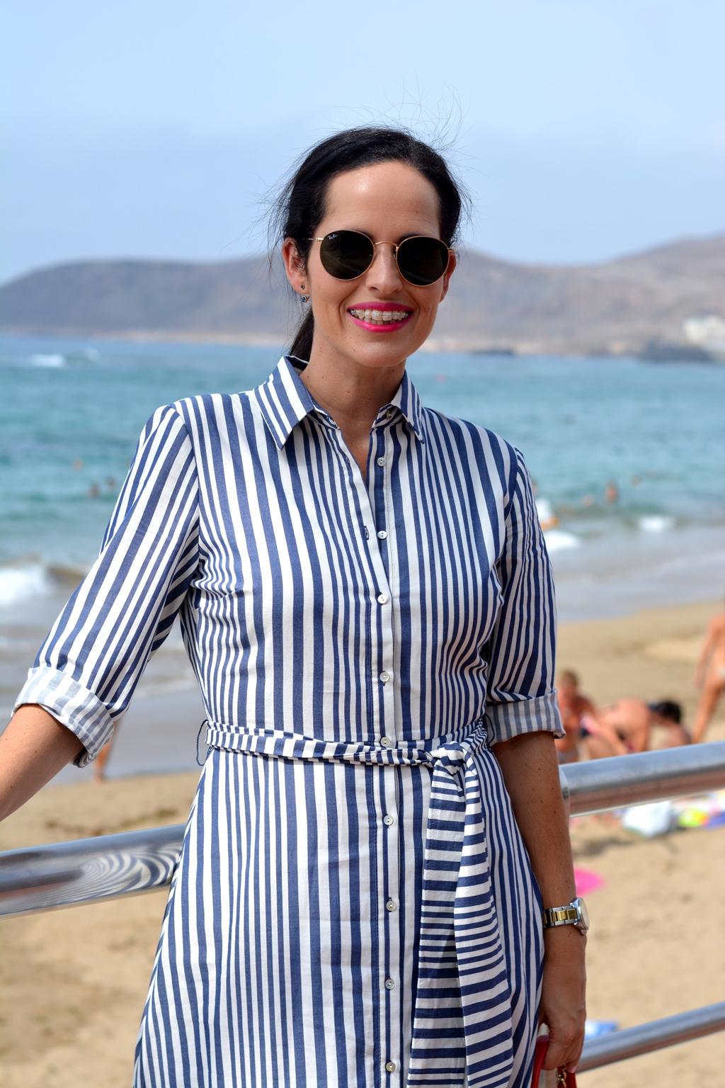 zara-striped-long-dress-streetstyle-personal-shopper