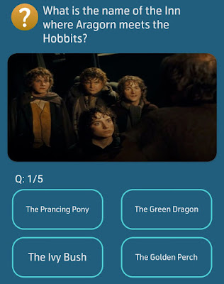 What is the name of the Inn where Aragorn meets the Hobbits?