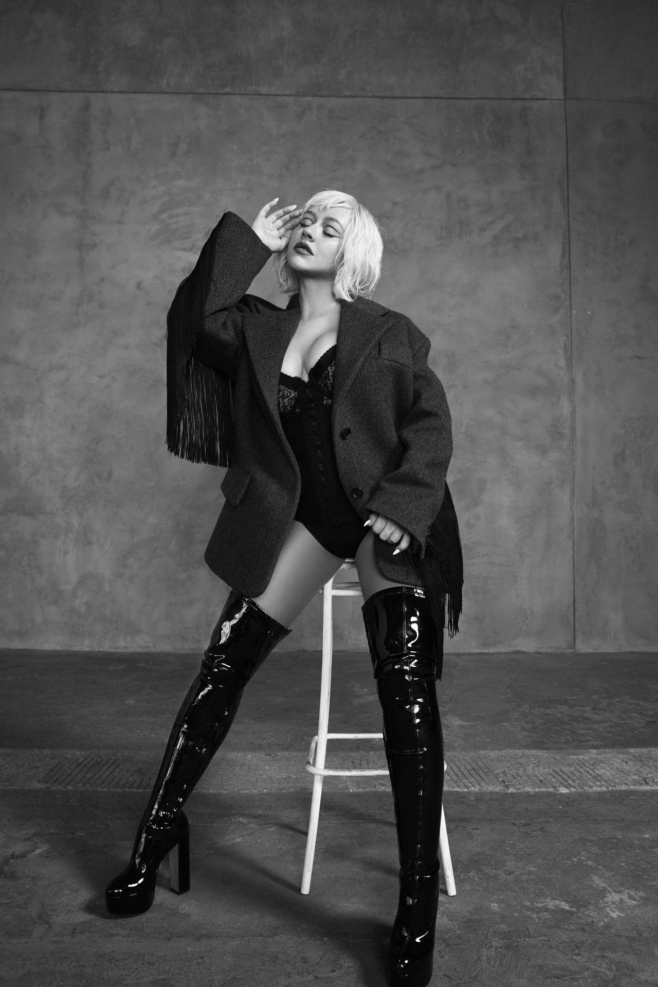Christina Aguilera - L'Officiel Italy Photoshoot 2020