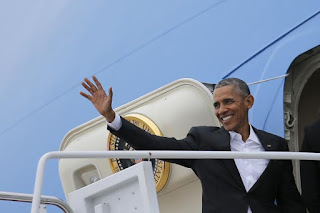 Obama Embarks On Historic Cuba Visit