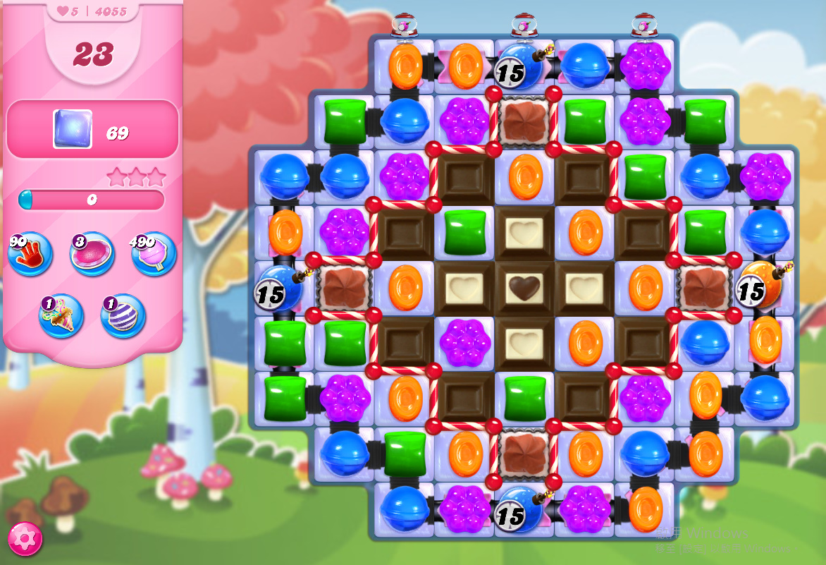 Candy Crush Saga level 4055
