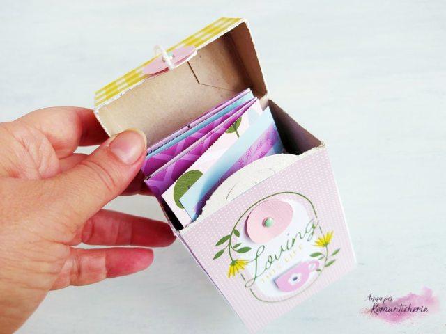 Scrapbooking: Mini album in scatola riciclata - Process Video
