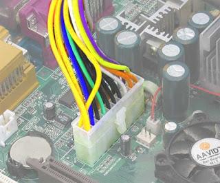 Socket Catu Daya (Power Supply,Fan)