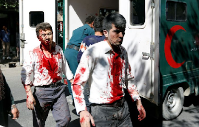 So Sad : 80 Die, 300 Wounded In Car Bomb Blast Near Embassies In Kabul