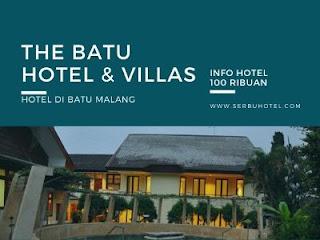 The Batu Hotel & Villas, Hotel Di Batu Malang Tarif 100 Ribuan