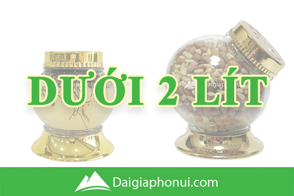 Bình Ngâm Rượu Hàn Quốc (Yongcheon Glass) Dưới 2 Lít - Dai Gia Pho Nui