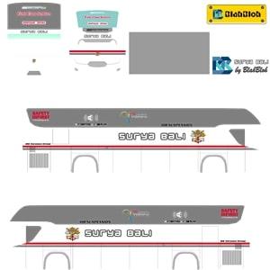 Livery Bussid Surya Bali Srikandi SHD