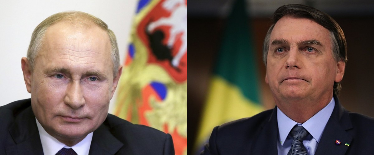 Putin e Bolsonaro