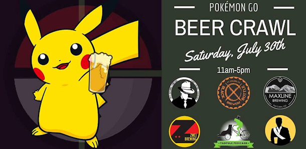 Pokémon GO Beer Crawl - Fort Collins - July 30th