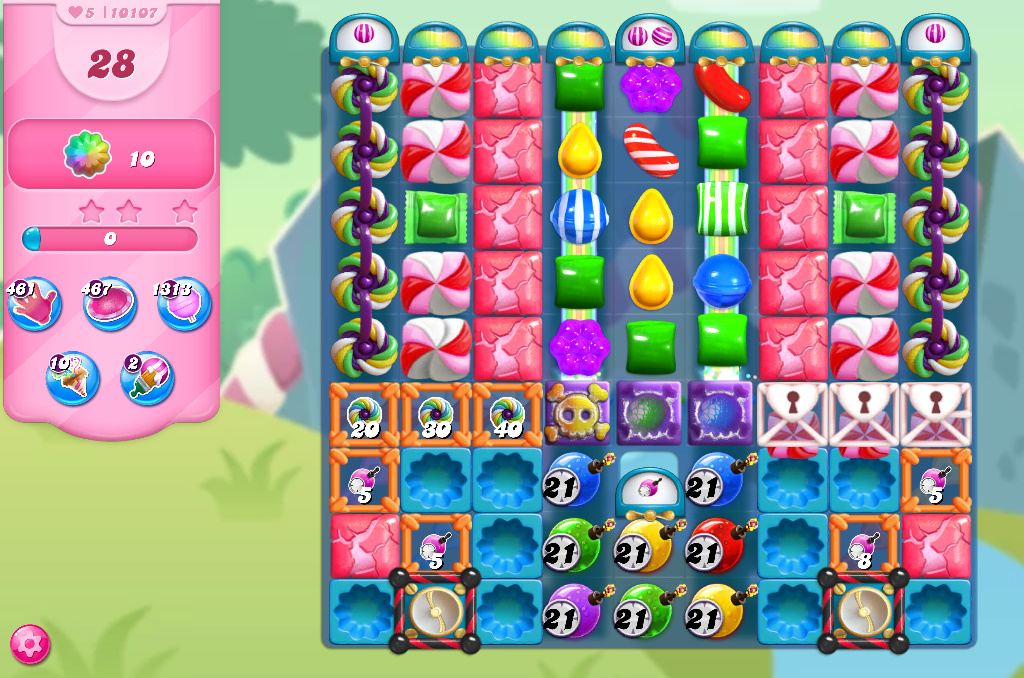 Candy Crush Saga level 10107