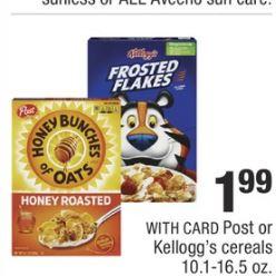 Kelloggs Eggo Cereal