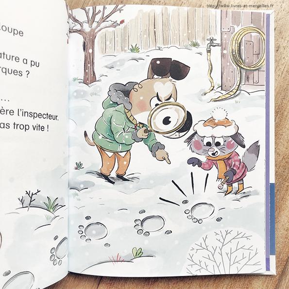 Des enquêtes au poil - Mystères sous la neige