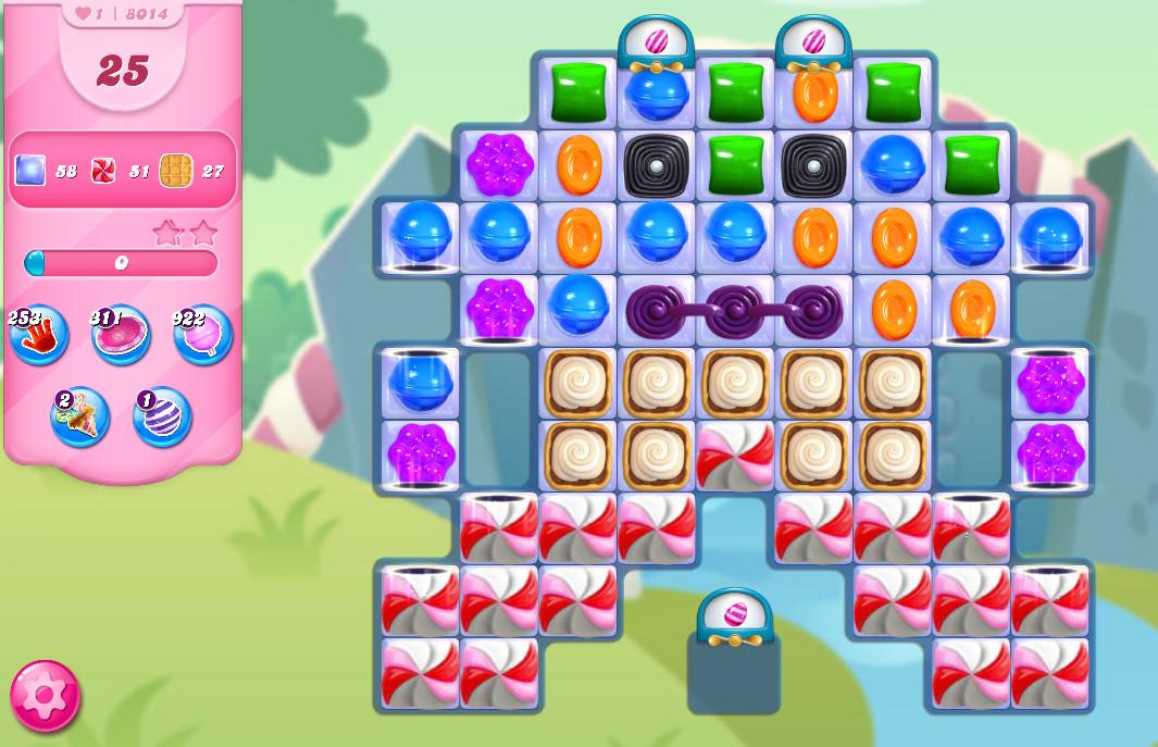 Candy Crush Saga level 8014