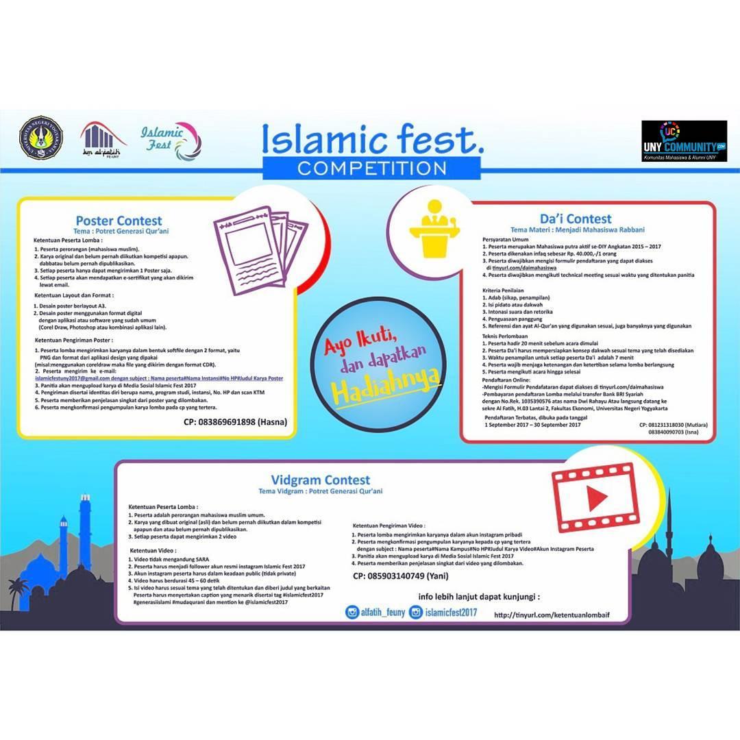 Islamic Fest 2017 | Univ. Negeri Yogyakarta | Mahasiswa