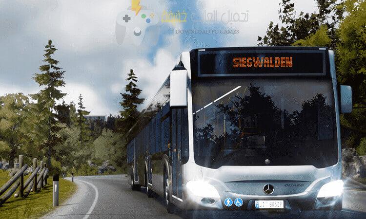 تحميل لعبة Bus Simulator 2018 للكمبيوتر