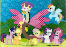 """My Little Pony """"Princess"""" Discord Trading Cards"""