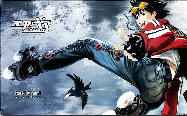 Manga Air Gear ha vendido más de 18 millones de copias
