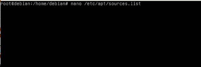 menambahkan repository cdrom debian
