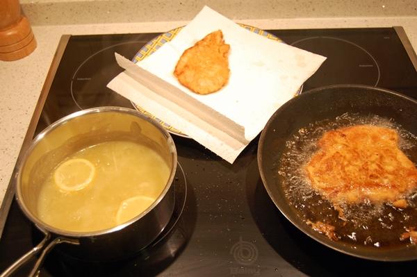hacer pollo al limon