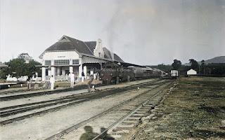 stasiun kereta api deli spoorweg maatschappij di kota pematangsiantar