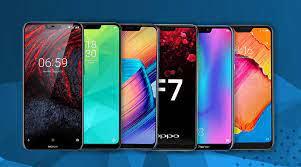 Display in smartphones