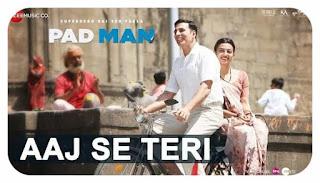 Aaj Se Teri Lyrics - Arijit Sing