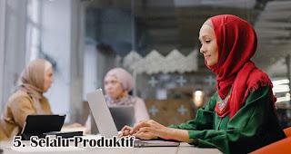 Selalu Produktif Untuk Menghasilkan Karya merupakan salah satu tanda kamu adalah penerus Kartini sesungguhnya