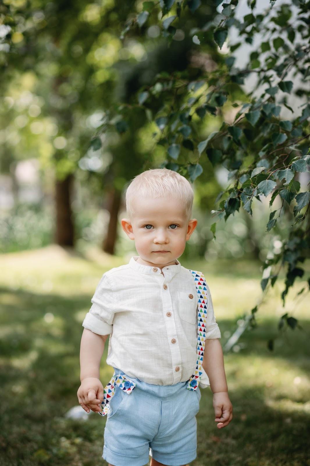 Krikštynų drabužiai berniukui