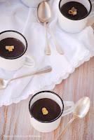 Natillas de chocolate sin lactosa y con thermomix