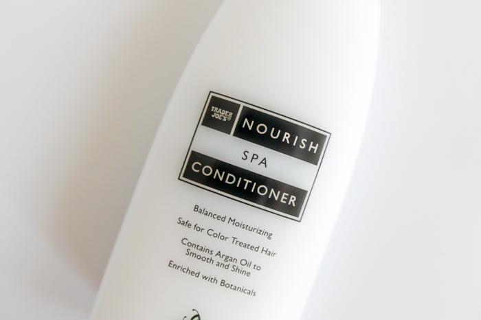 Trader Joe's Nourish Spa Conditioner Review
