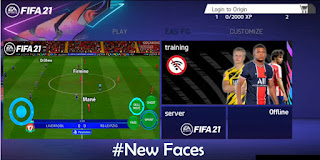 Download FIFA 14 MOD FIFA 21 Android Offline Best Graphics New Menu Update Face & Full Transfers