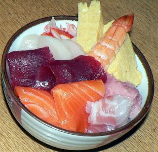 手巻き寿司セットでちらし寿司