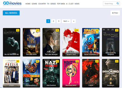 Gomovies 2020 - Illegal HD Movies Download Website