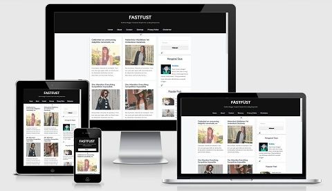 FastFust Template Blogger Responsive