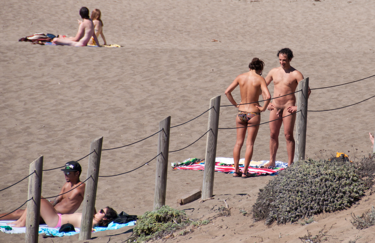 Erection On The Nude Beach