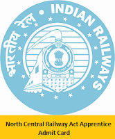 North Central Railway Act Apprentice Admit Card