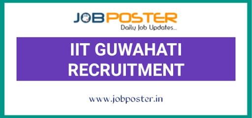 IIT Guwahati Research Associate Jobs 2020