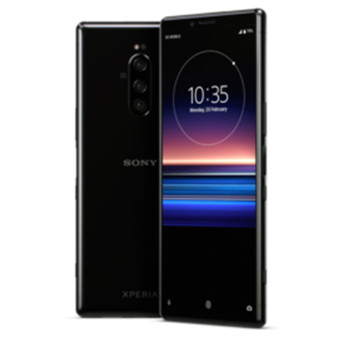 The Sony's Xperia 1 Smartphone