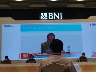 RUPS dipimpin Wakil Komisaris Utama Bank BNI