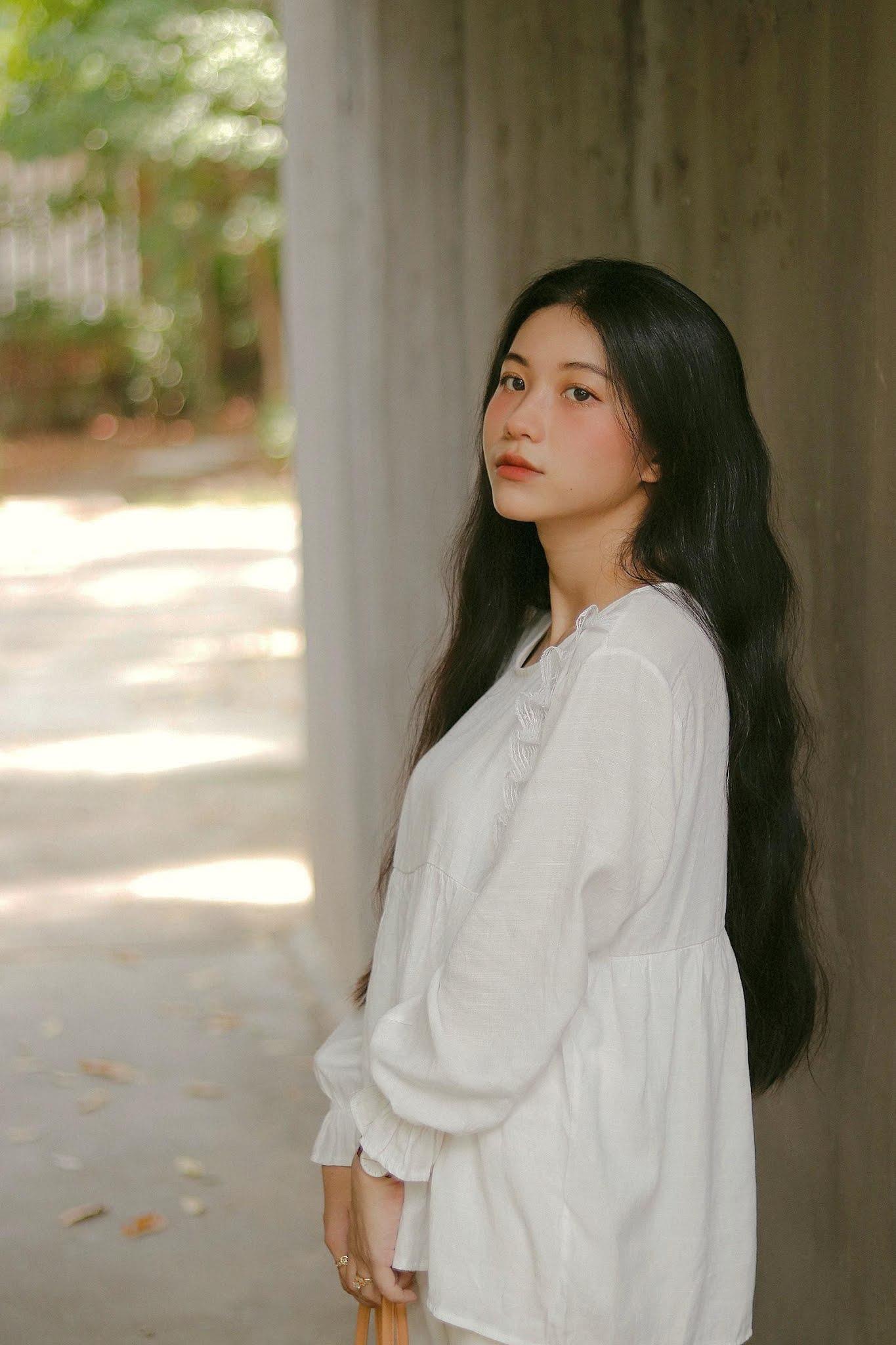 Hot girl Nguyễn Thị Kim Anh xinh xắn và cực dễ thương - 7