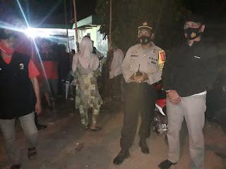 Kapolsek labakkang pantau Personil Pengamanan Kampanye di Bontoa Labakkang