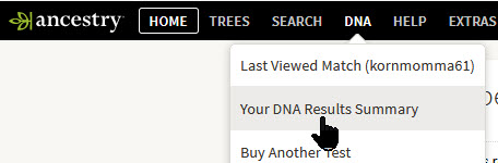 accessing ancestry DNA results